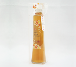 メープルシロップ梅黒酢 300ml (透明ケース入)