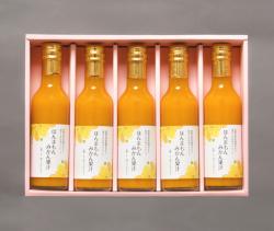 ほんまもんみかん果汁 200ml×5本(化粧箱入り)