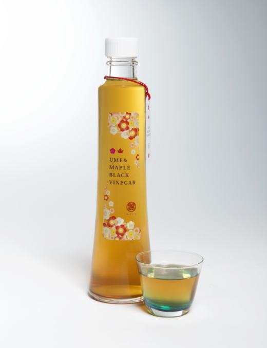 メープルシロップ梅黒酢